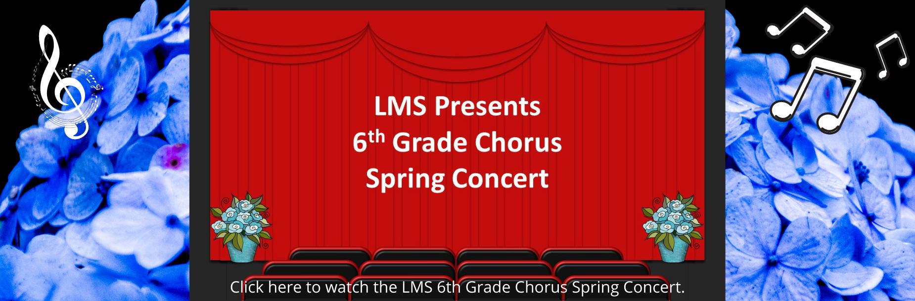 6th grade spring chorus link
