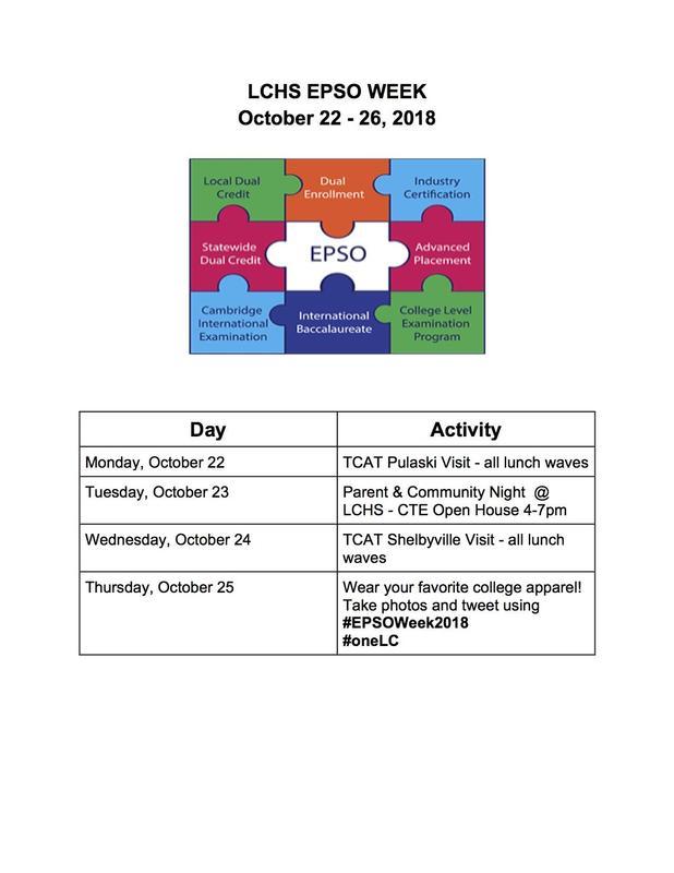 epso week activities