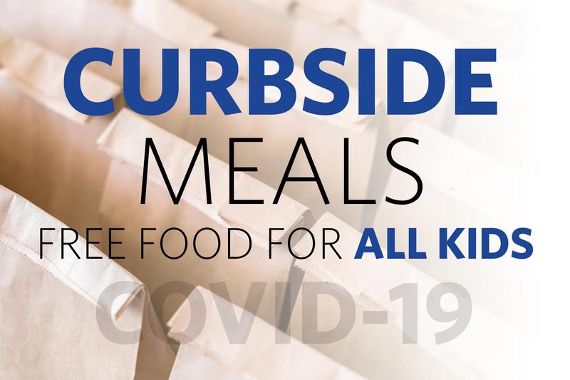 curbside meals, free food for all children
