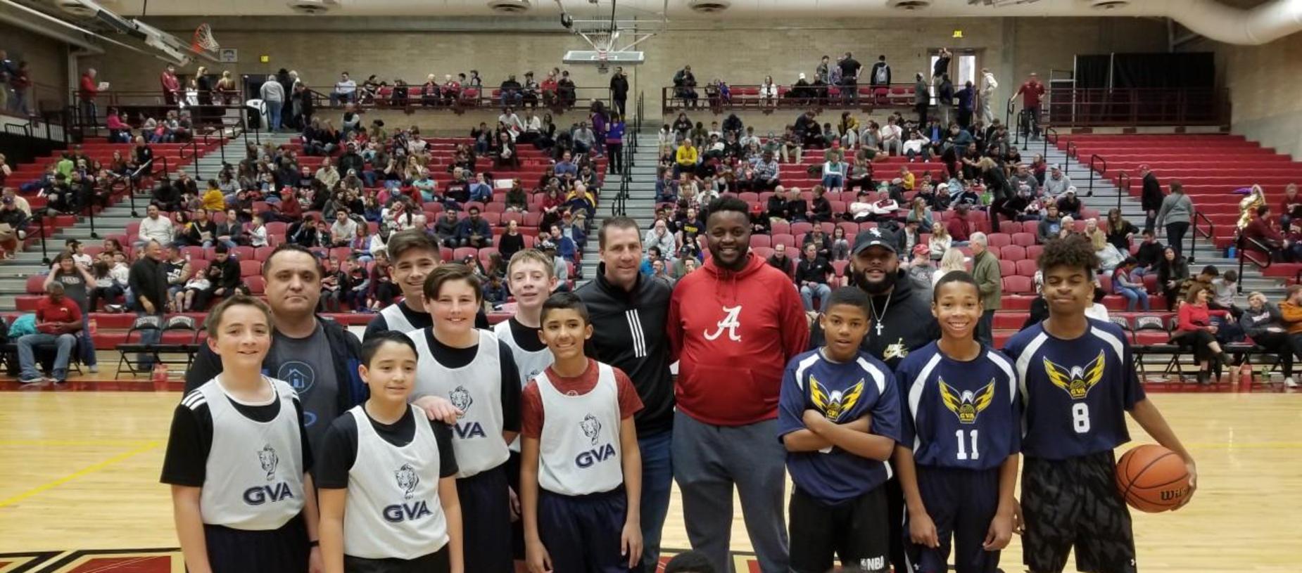 GVA Northglenn and Aurora Boys Basketball Scrimmage at DU