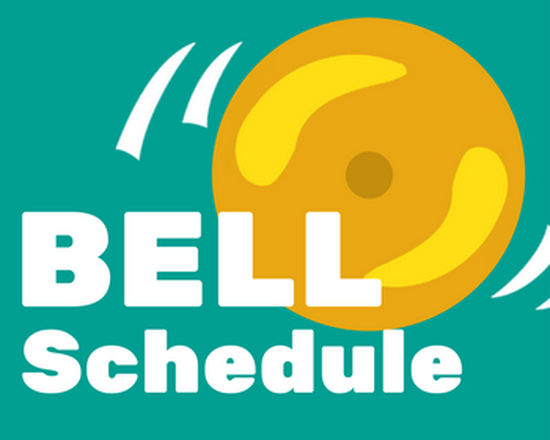 First Day of School Bell Schedule (Sept. 5, 2018) Featured Photo
