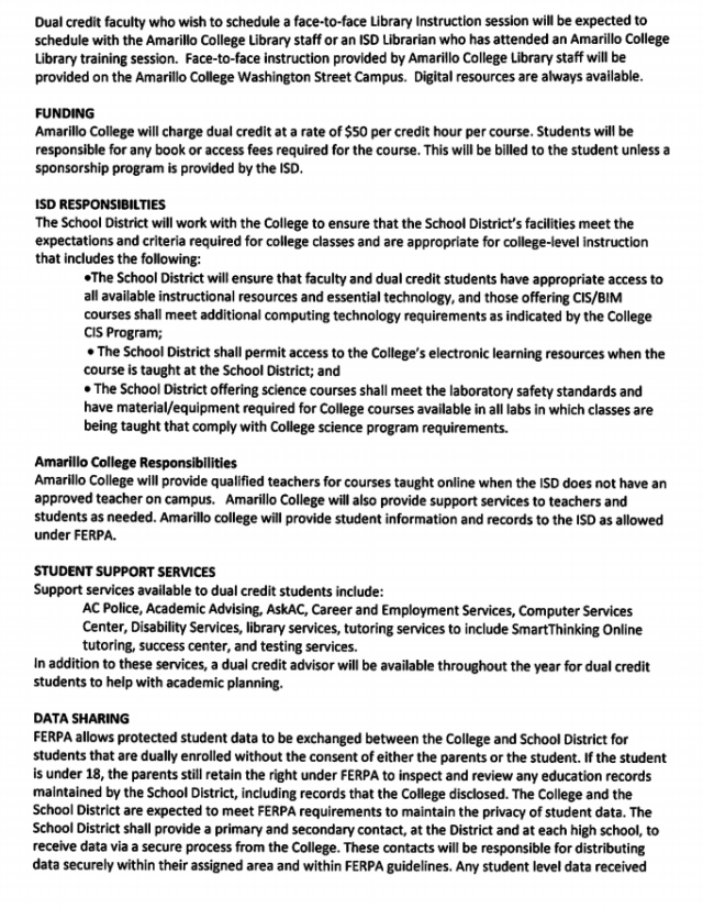 Dual Credit Agreement Page 3