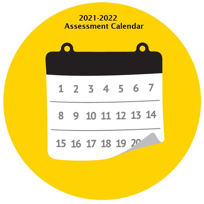 2021-2022 Assessment Calendar