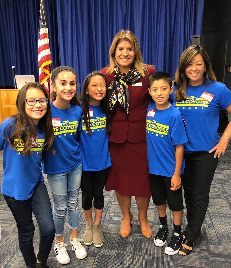 Superintendent Martinez and School Leadership Team - L.E.A.D. 2019/20