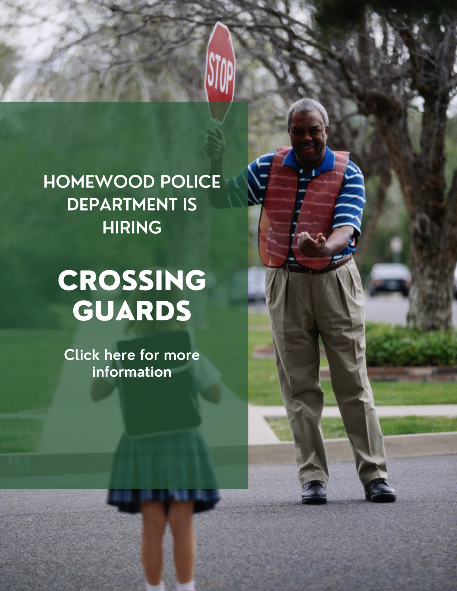 crossing guards wanted