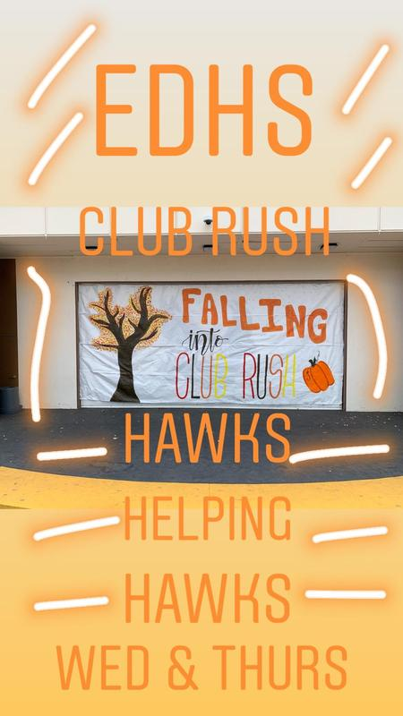 EDHS Club Rush - October 2 & 3 Thumbnail Image