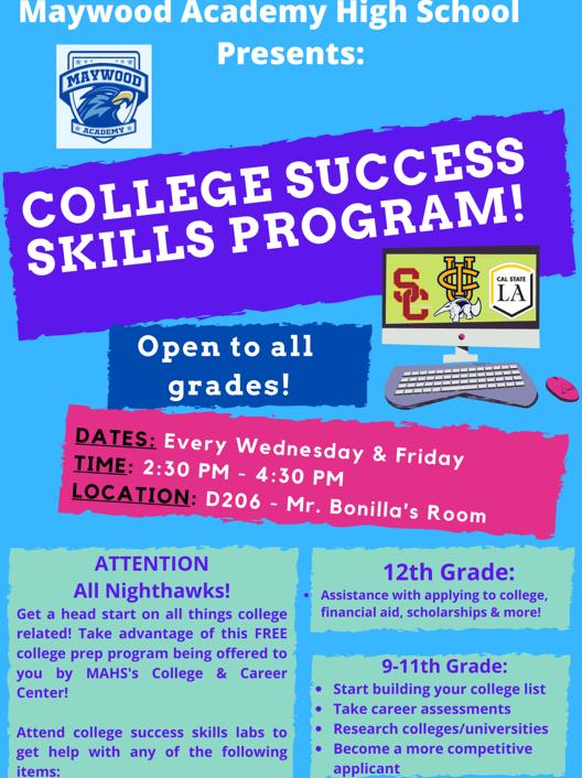 College Success Skills Program/Labs