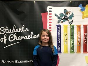 Kendall Bearup - Student of the Month