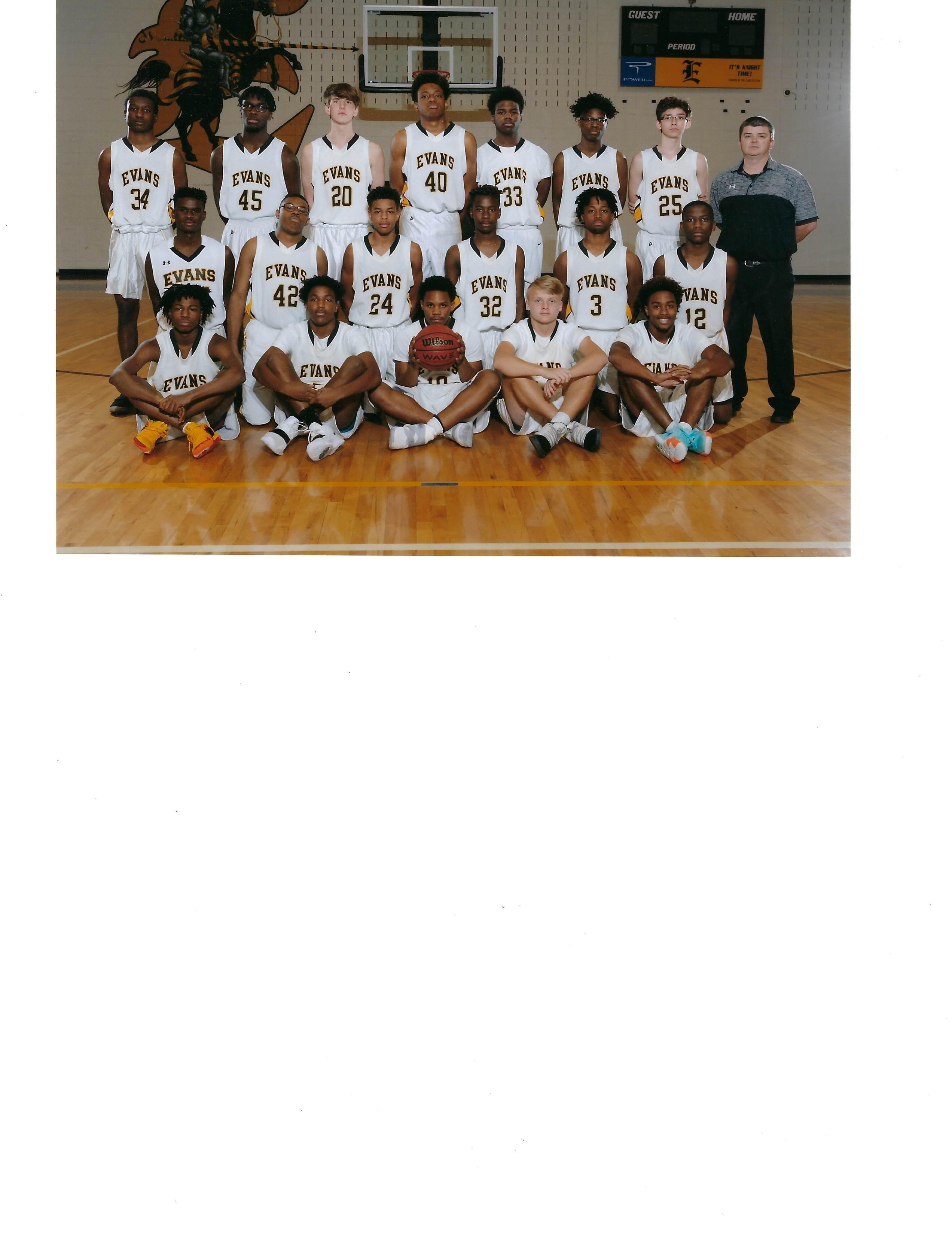 2018-19 JV Basketball