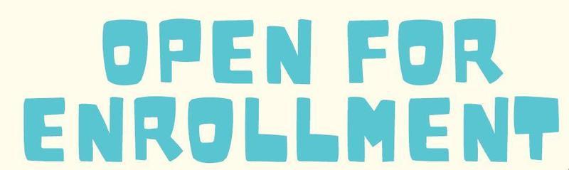 Open for Enrollment