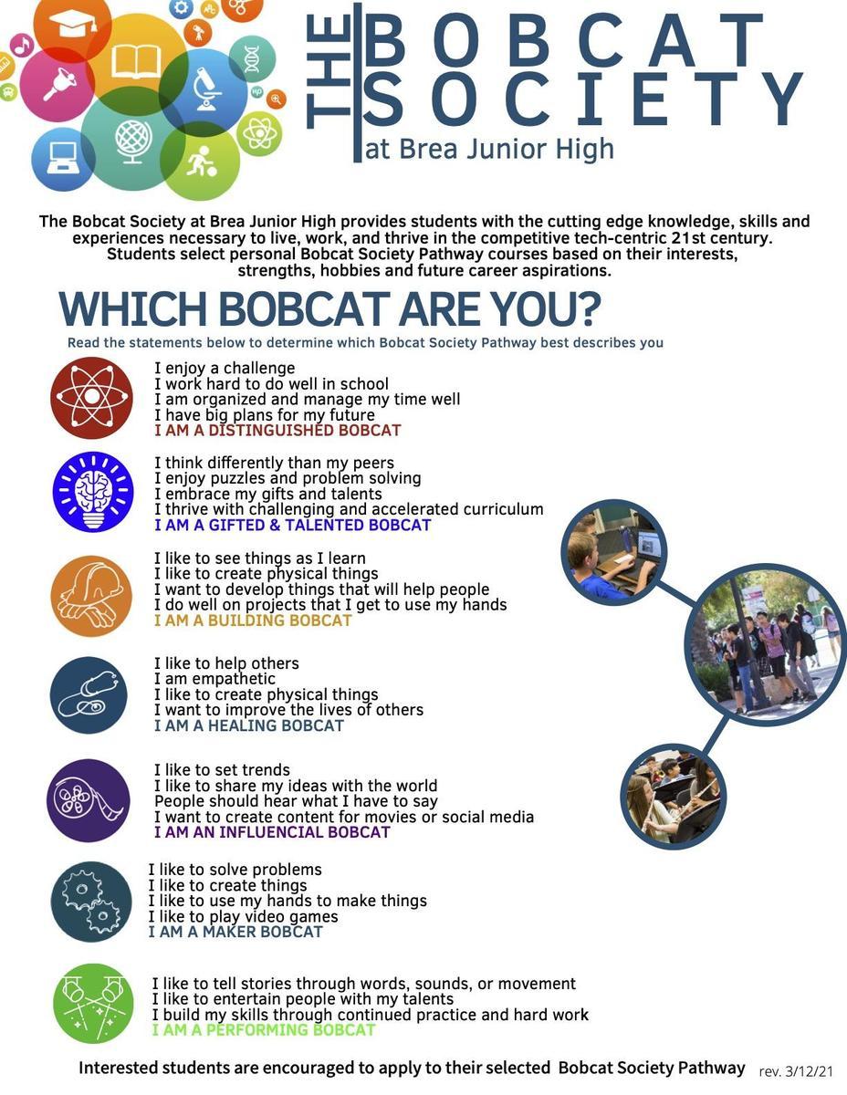 Bobcat Society