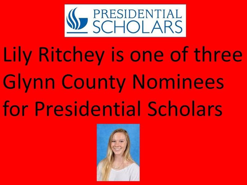 Lily Ritchey Named Nominee for Presidential Scholar Featured Photo