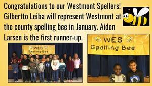 WES Spelling Bee