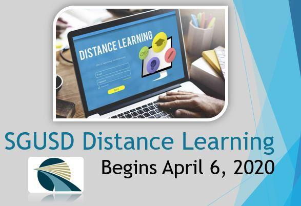 Distance Learning Begins April 6, 2020