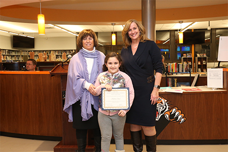 Hatchery Hill School Student of the Month - February 2020 - Sophia Cheref
