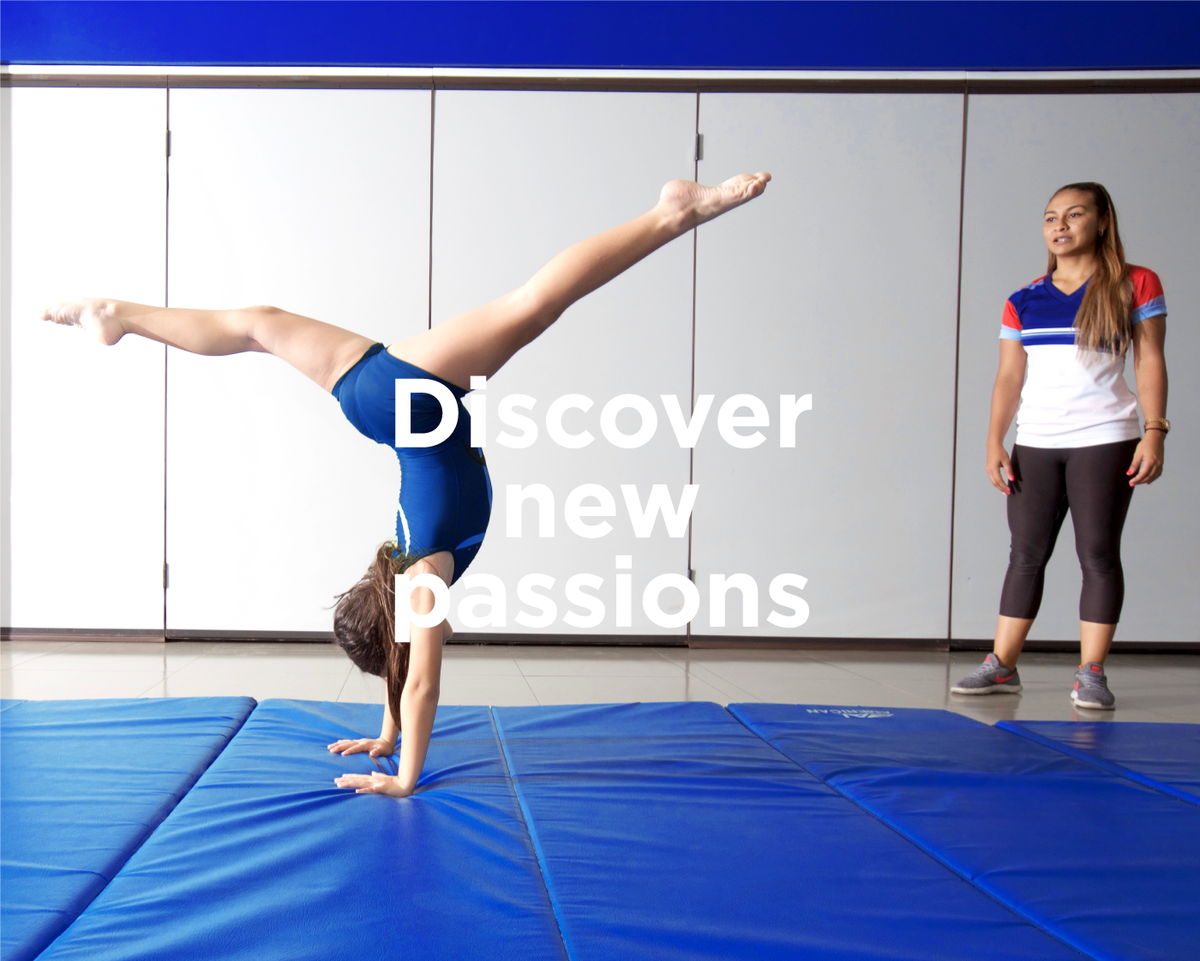 Discover new passions