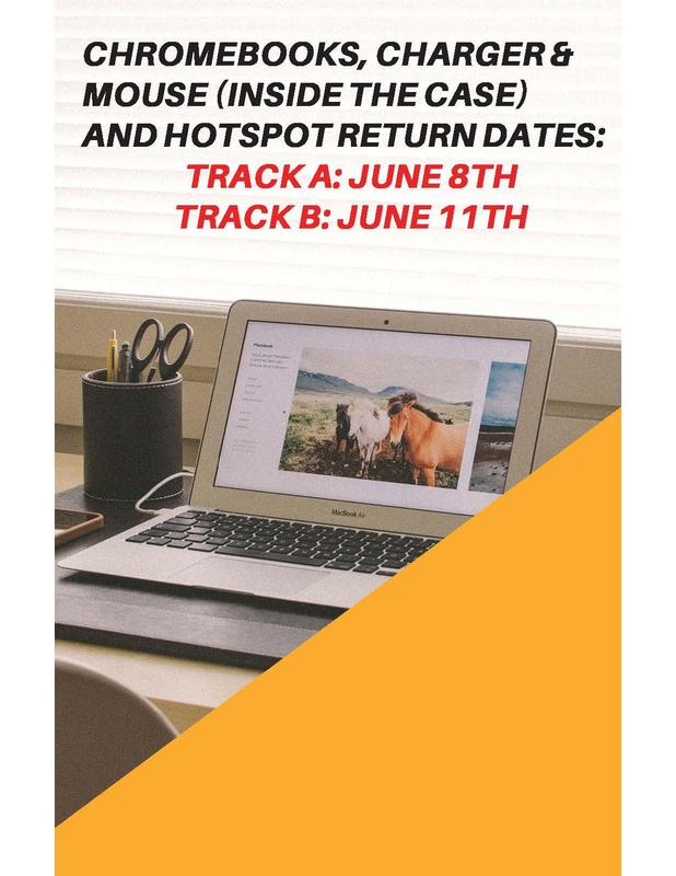 WMS Chromebook Return Dates