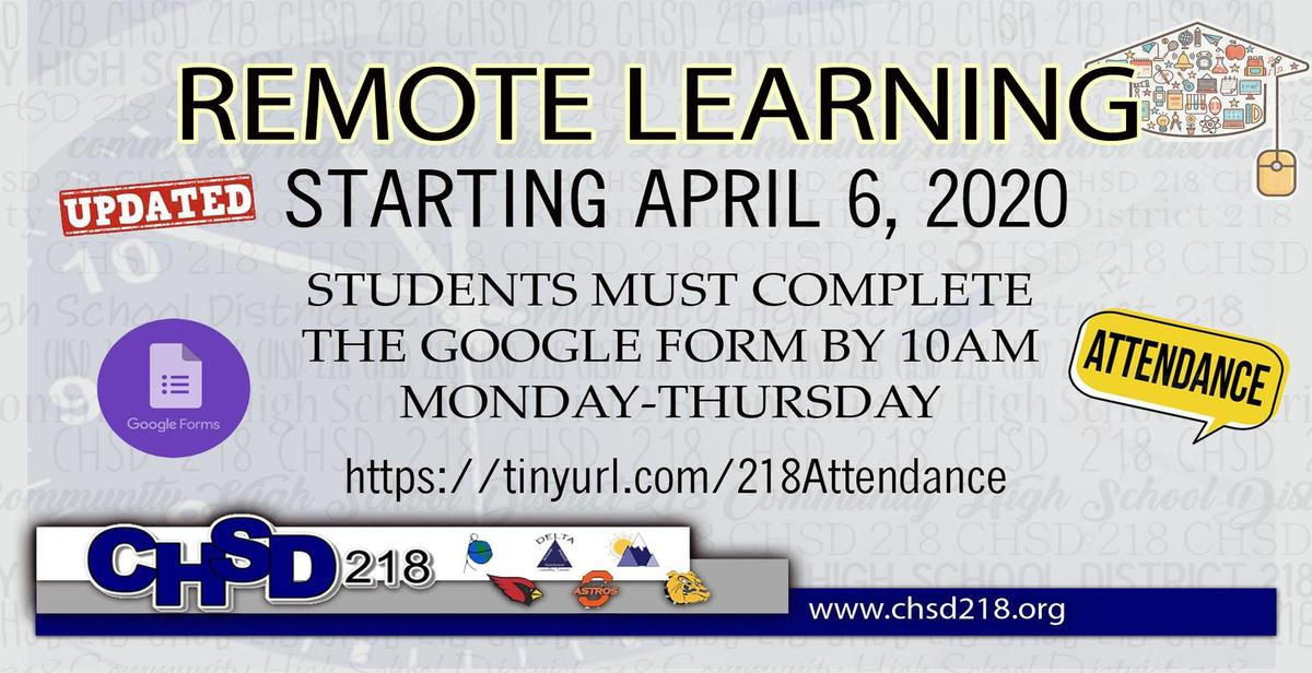 Remote Learning Attendance