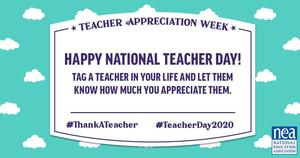 National Teacher's Day 2020!