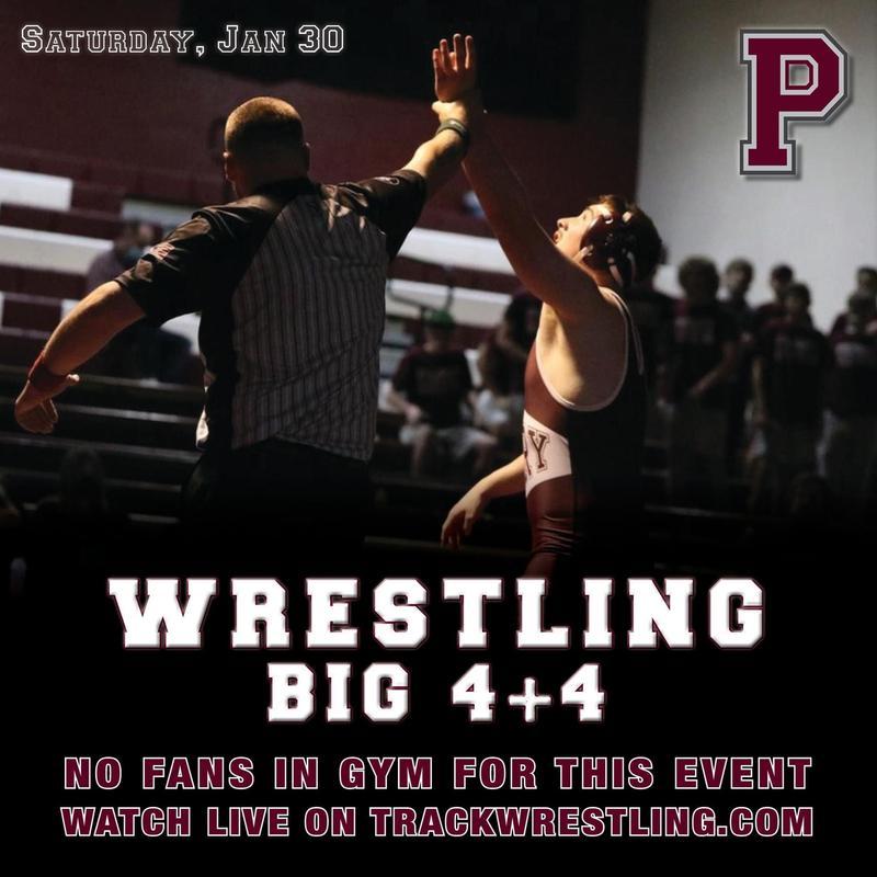 wrestling big 4+4 no fans