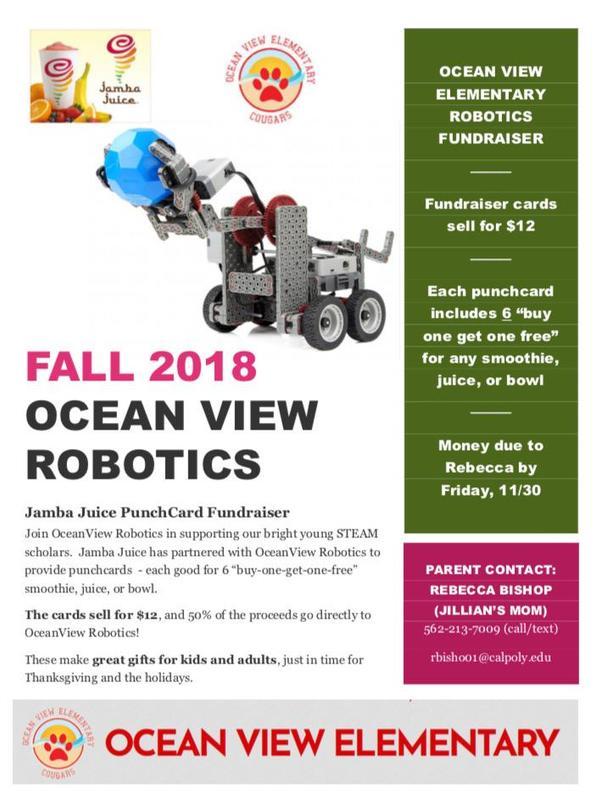 Robotics Fundraiser