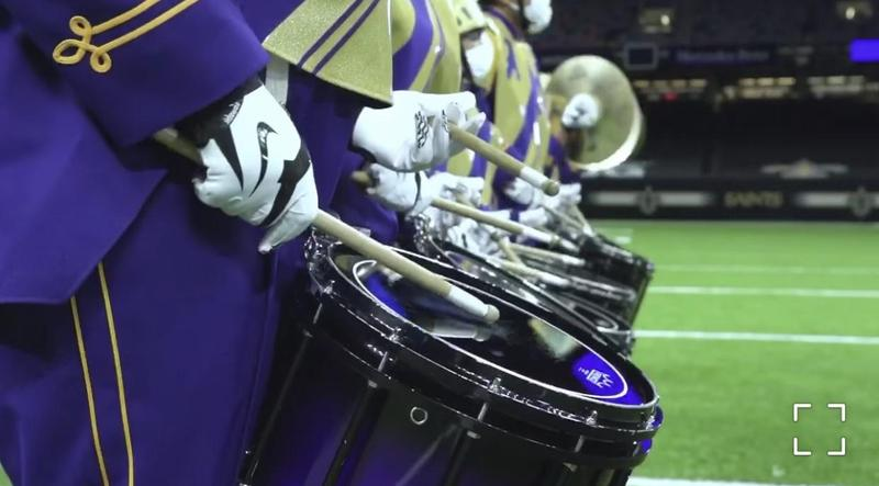 Marching 100 featured in Entergy Get Hype Video: Saints vs. Buccaneers | Week 1 2020. Featured Photo