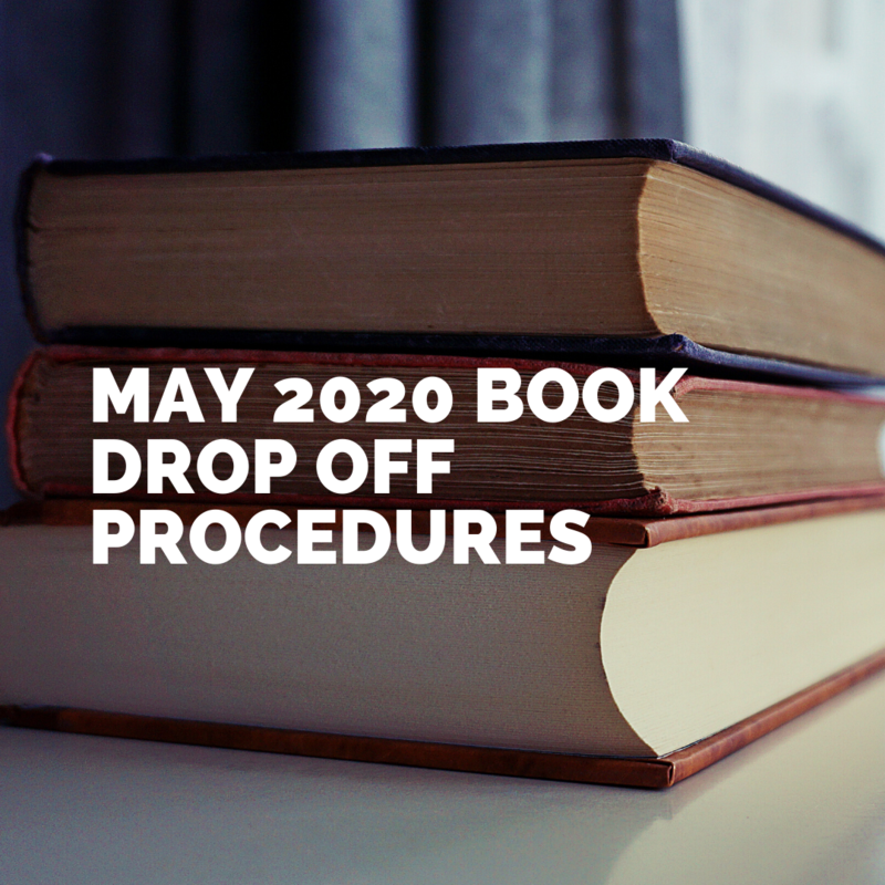 May 2020 Book Drop Off Procedures Featured Photo