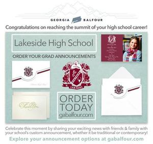 time to order graduation announcements for seniors