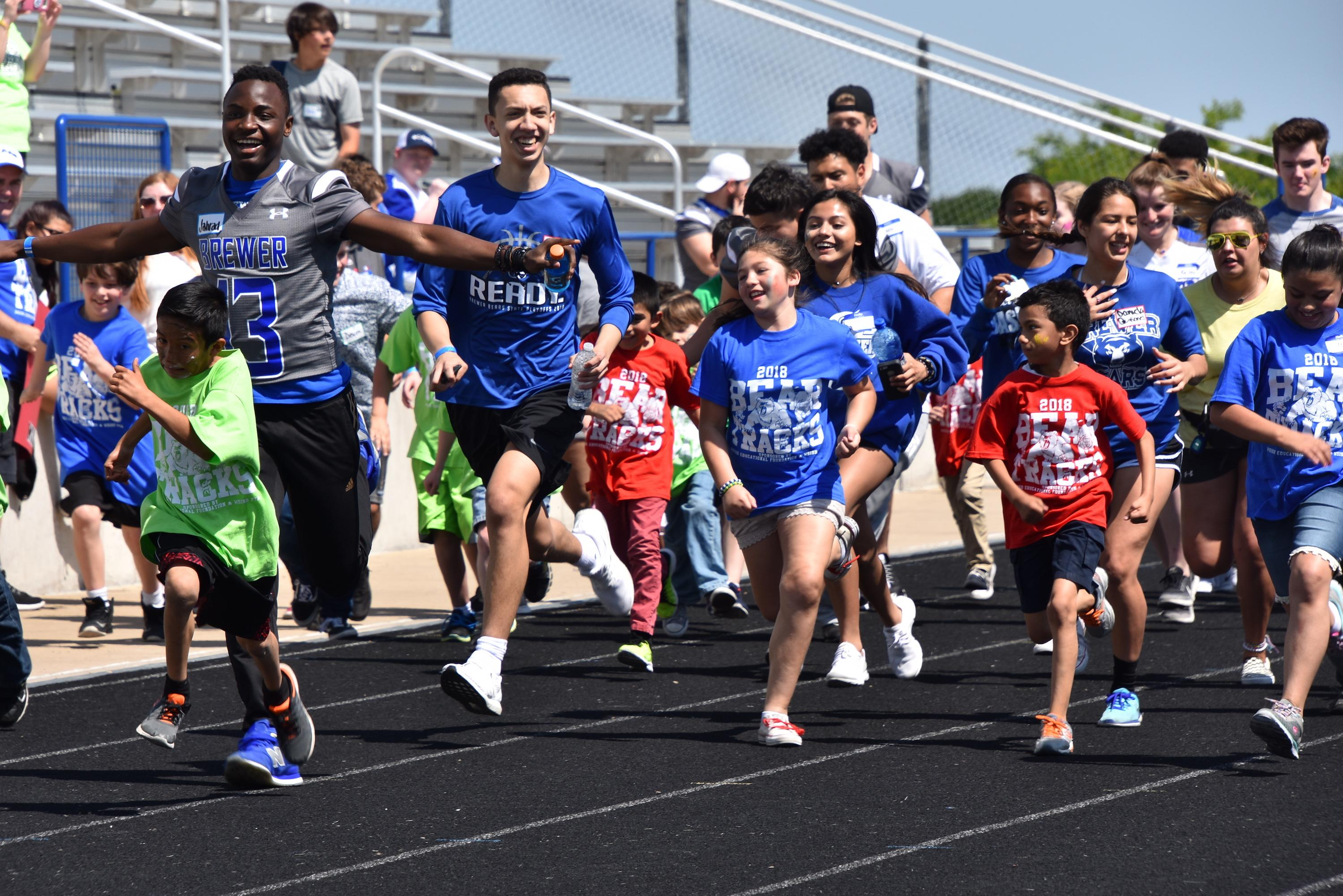 More than 350 students from WSISD, Lake Worth, Castleberry and Azle ISDs partipated in the annual Bear Tracks Meet on April 27.