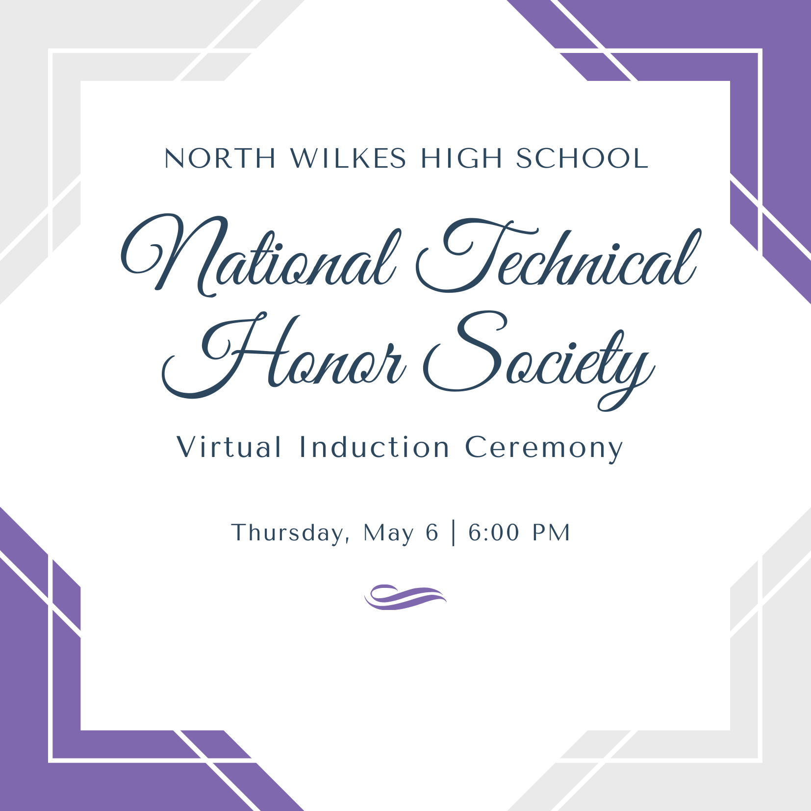 nths virtual induction ceremony