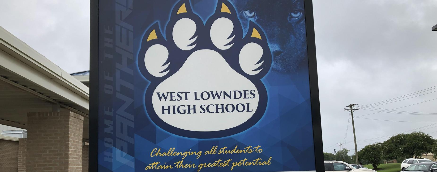 WLHS front sign