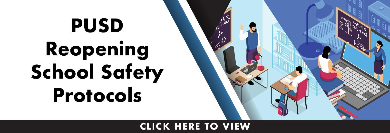 Reopening Schools Safety Protocols