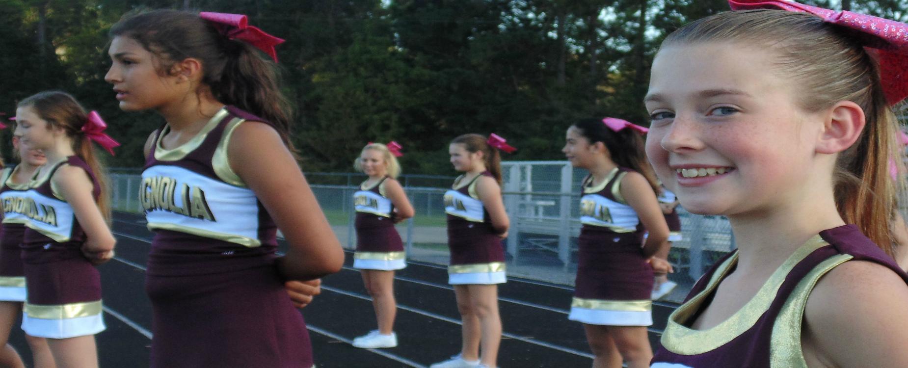 MJH Cheerleaders