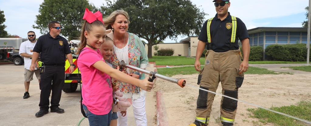 First responders day at Carpenter Elementary
