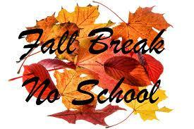 NO SCHOOL  due to Fall Break Nov.25th-29th Featured Photo