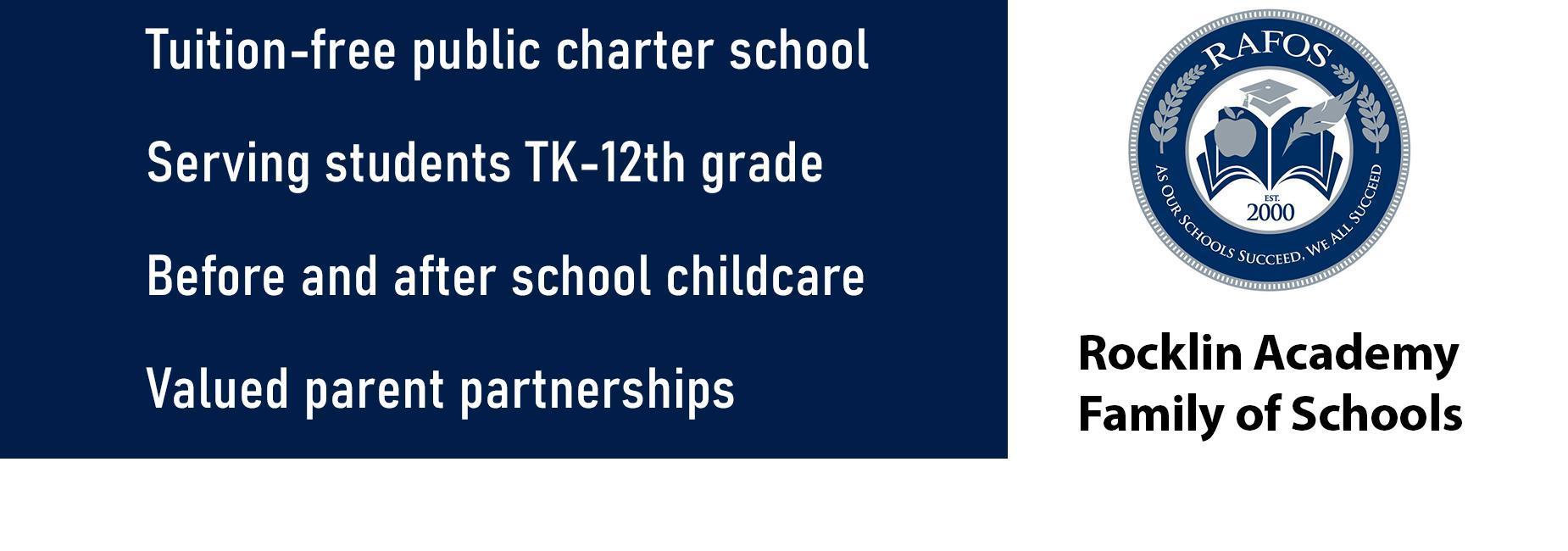 Tuition Free Public Charter School