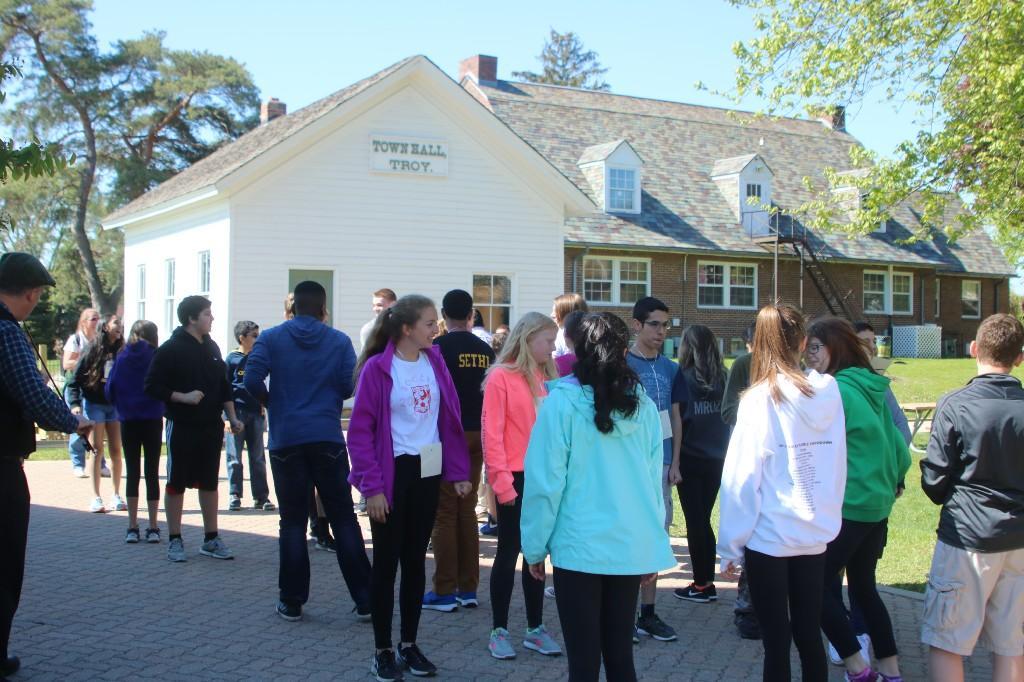 Troy Historical Museum field trip