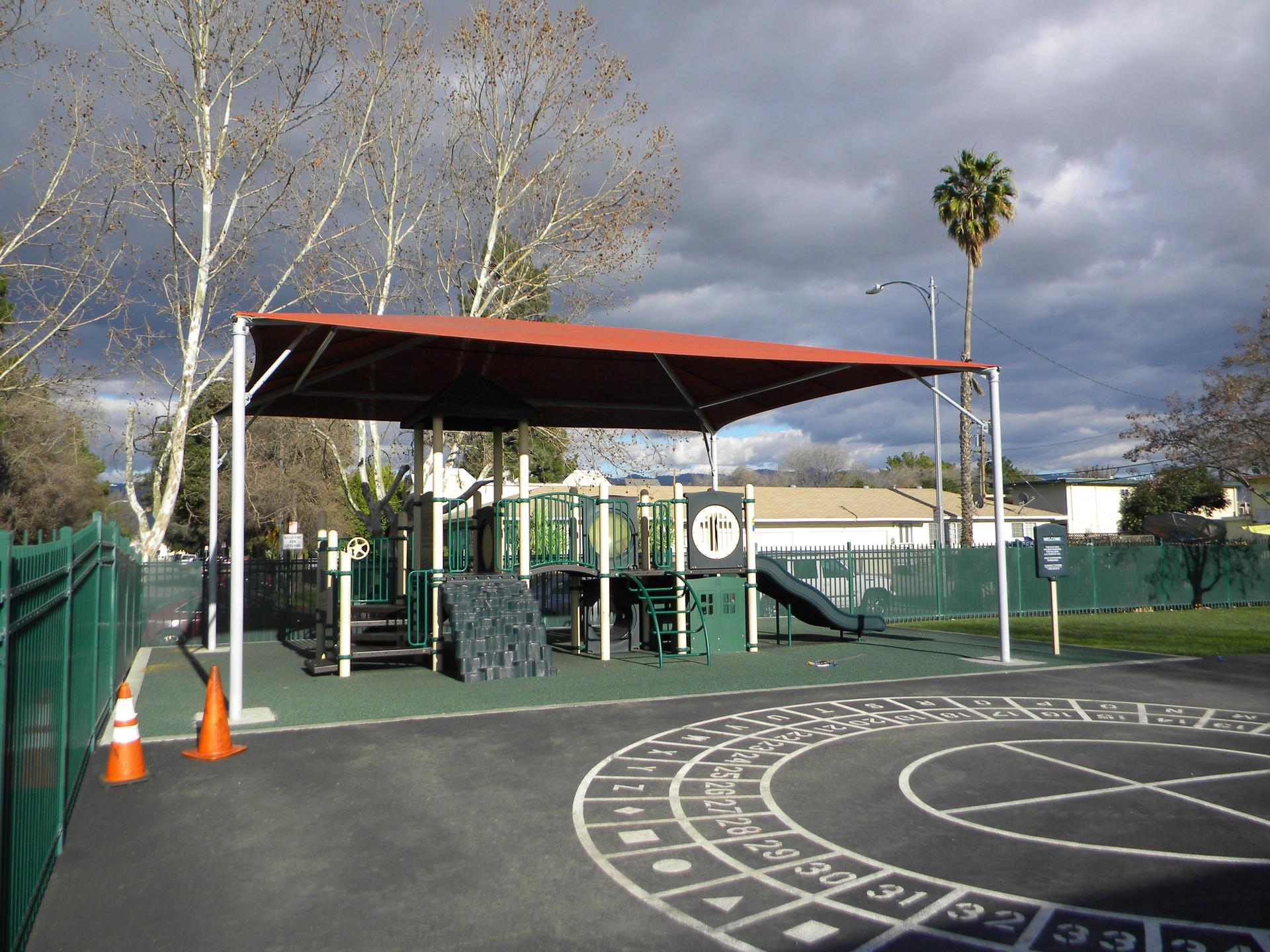 Santee Elementary New Shade Structure