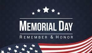 HAPPY MEMORIAL DAY!!  THERE WILL BE NO REMOTE LEARNING MONDAY MAY 25TH Featured Photo