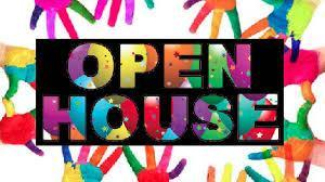 Open house image with colorful hands