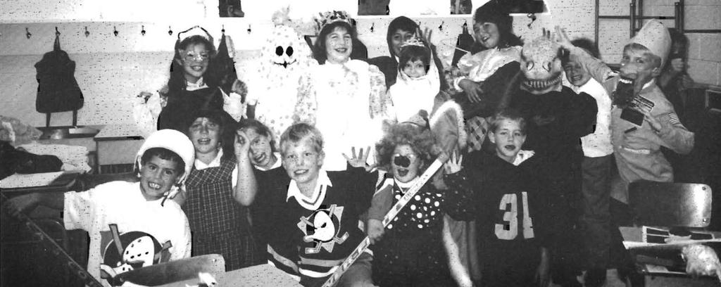 Halloween at St. Theresa School