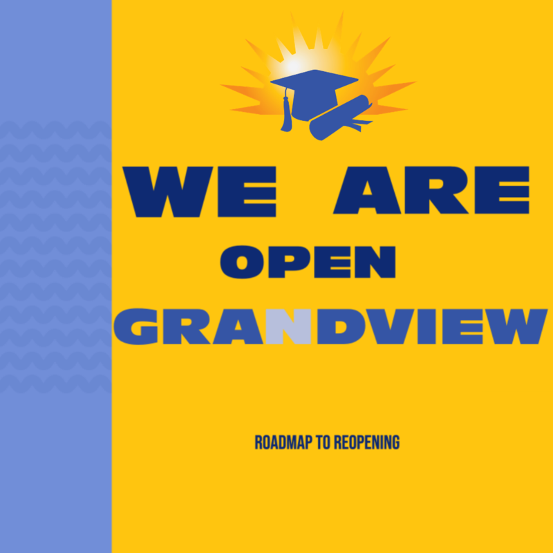 We Are Open Grandview
