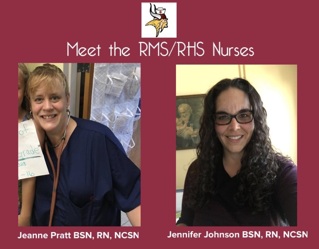 Meet the RMHS Nurses