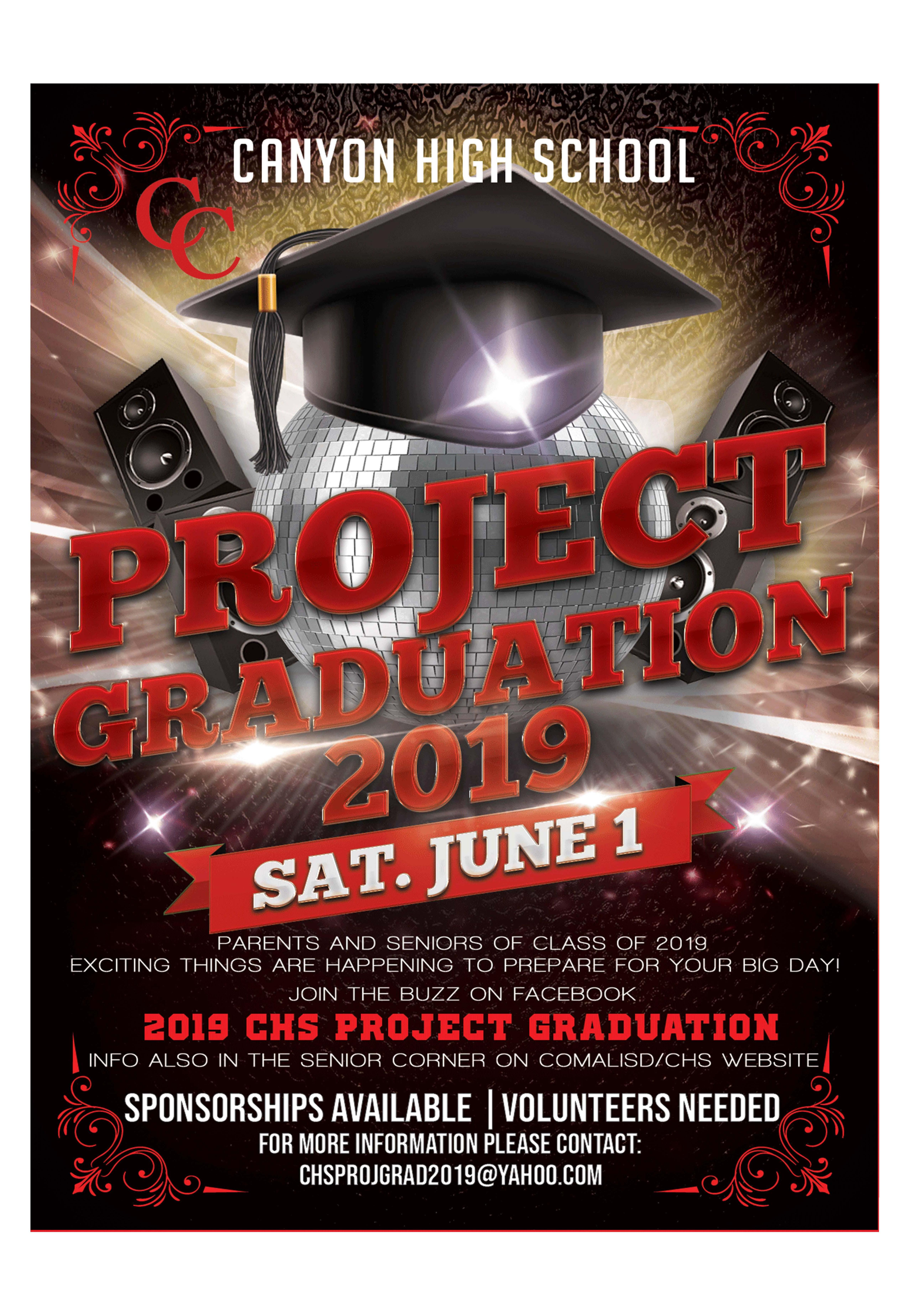 Project Graduation Invitation
