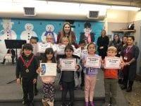 Maestra Gonzales' Trimester 1 award winners.