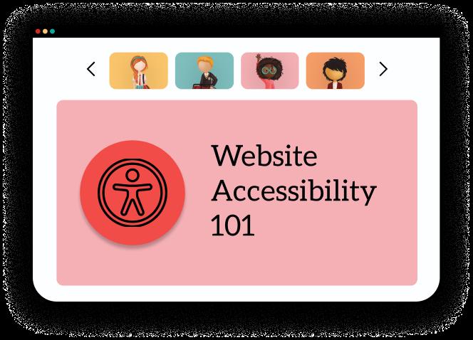 Website Accessibility 101 webinar