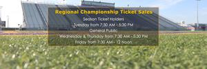 Regional Championship Ticket Sales