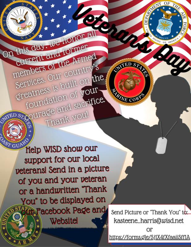 Veteran's Day Appreciation Featured Photo
