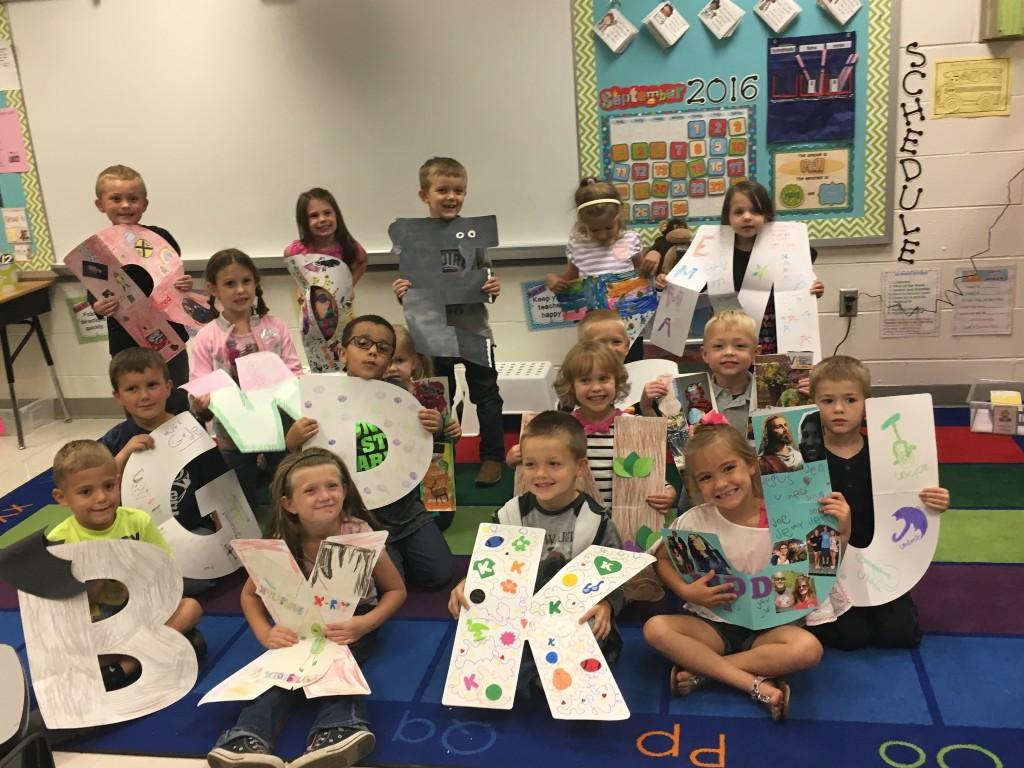 Alphabet Parade in Kindergarten