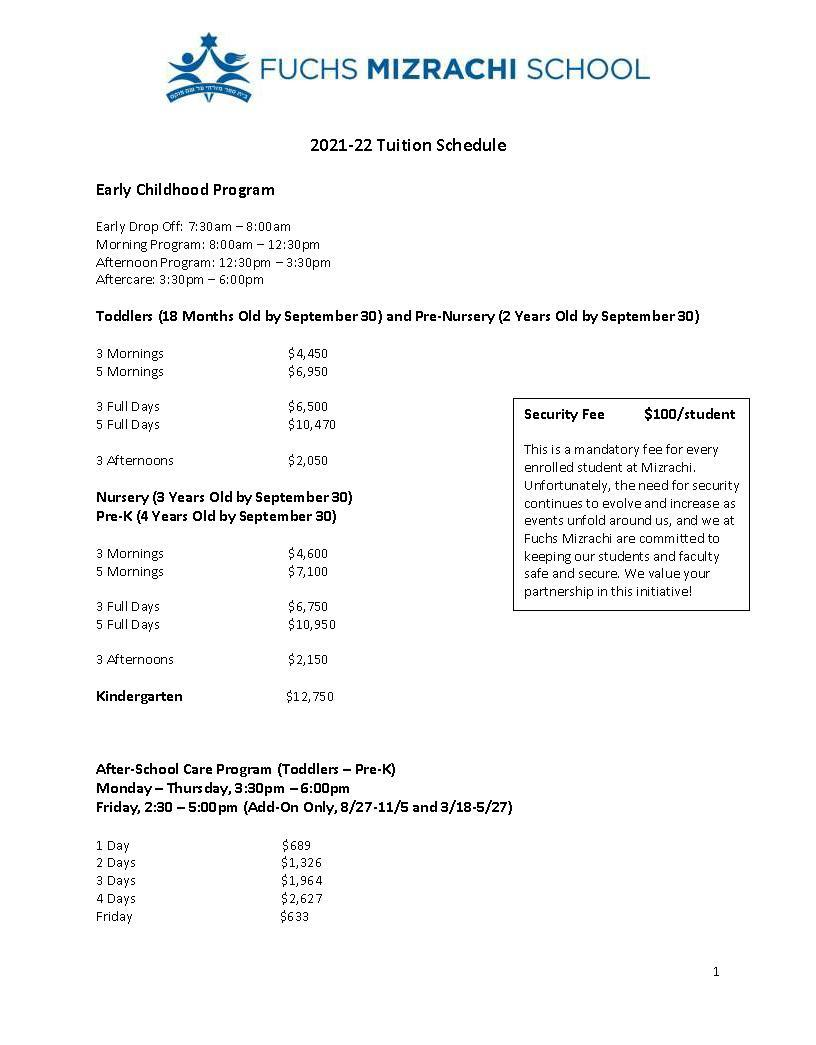 21-22 tuition 1